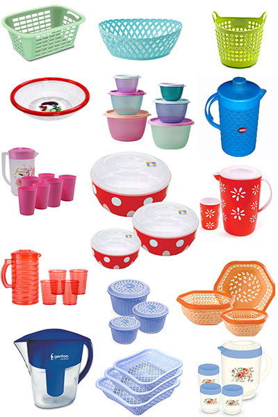 Plastic Crockery & Furnitures